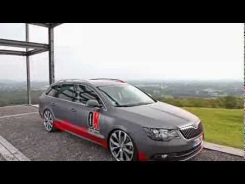 2014 Skoda Superb Redesigned 2 Face Style By Ok Chiptuning 2015
