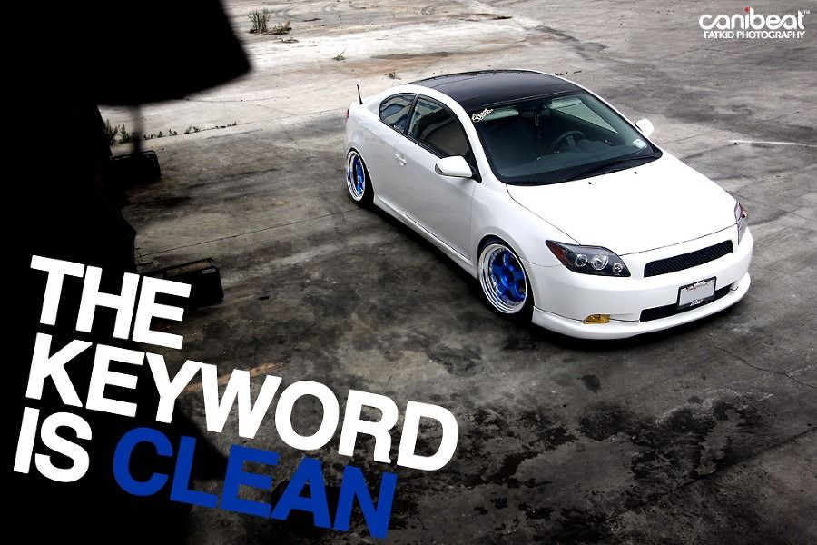 Clean Stanced Scion tc