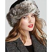 5b2798a4fa3b32 Surell Faux Fur Cuff Hat Bloomingdale's Hats Online, Keep Warm, Women's Hats,  Hats
