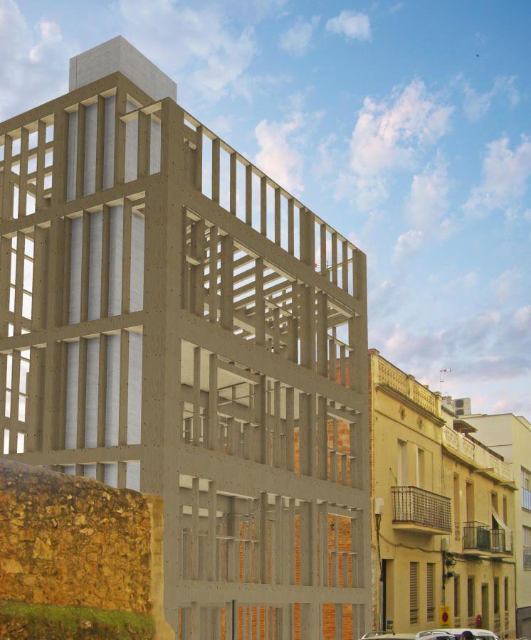 Arranca la construcción del edificio con estructura de madera más ...