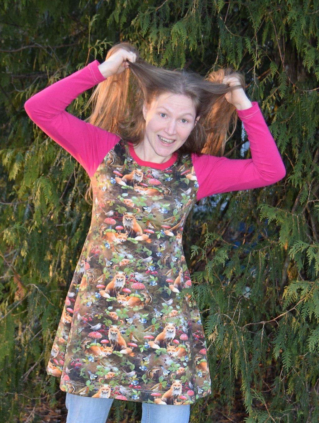 kangaskapina peppi mekko