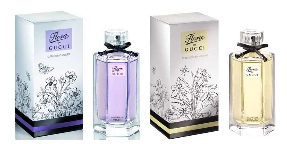 Gucci's Limited Edition Glorious Mandarin and Generous Violet Fragrances
