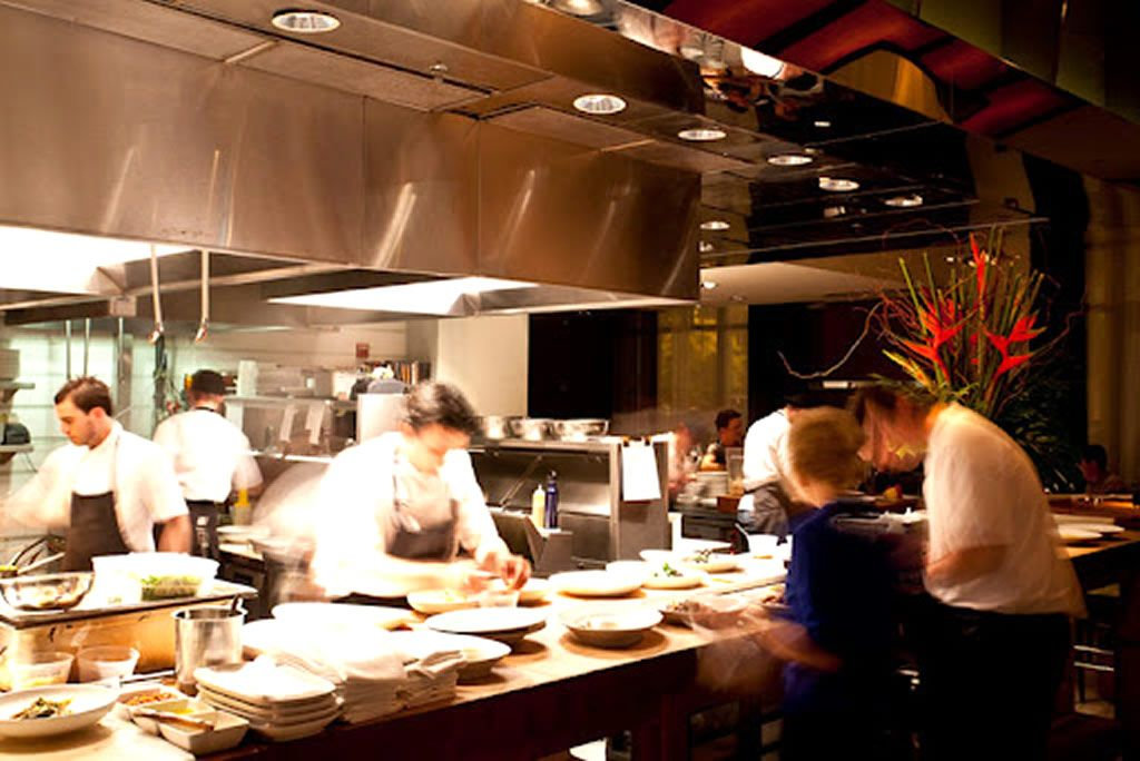 Open Kitchen Restaurant Design Of Luma On Park Avenue, Orlando   DESIGN.  IDEAS.
