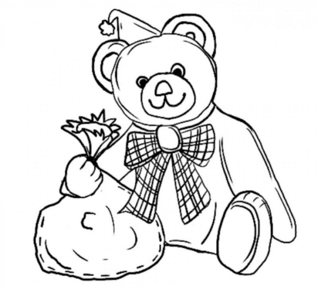 Free Printable Teddy Bear Coloring Pages For Kids Teddy Bear Coloring Pages Merry Christmas Coloring Pages Bear Coloring Pages