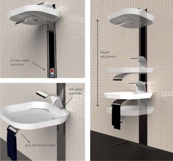 toilet sink tiny house bathroom sink