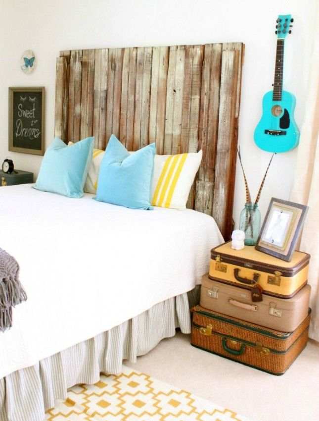 25 Ideas for Your Perfectly Prepped Guest Room | Vintage suitcases ...