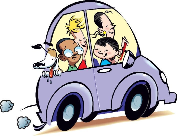 The Benefits Of Carpooling With Images Carpool Clip Art Free