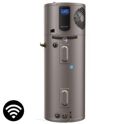 Rheem Performance Platinum 50 Gal High Efficiency 12 Year Warranty Hybrid Electric Water Heater With Mobile Ale Electric Water Heater Water Heater Electricity