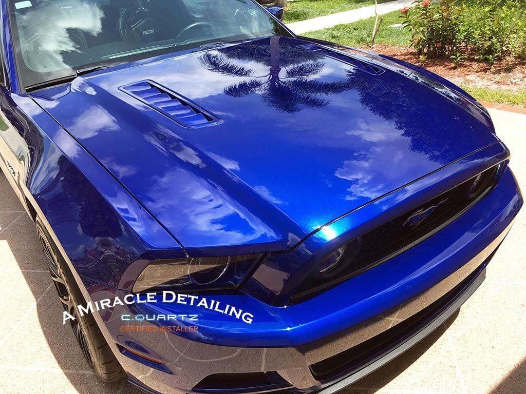 2013 Ford Mustang Gt Cquartz Professional Ultimate Auto Detail And Coated With Cquartz Professional Ceramic Coating Ford Mustang Gt Mustang Gt Ford Mustang