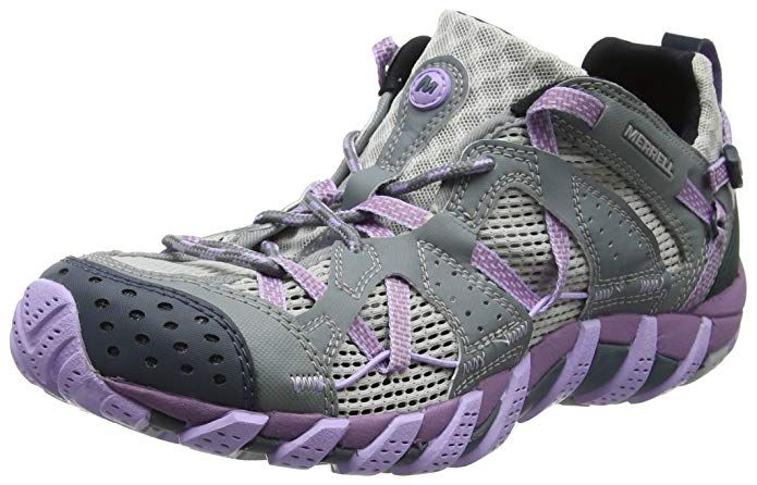 Women's Puma Ignite Blaze Sport Disc Golf Shoes Grey Violet 9 Medium