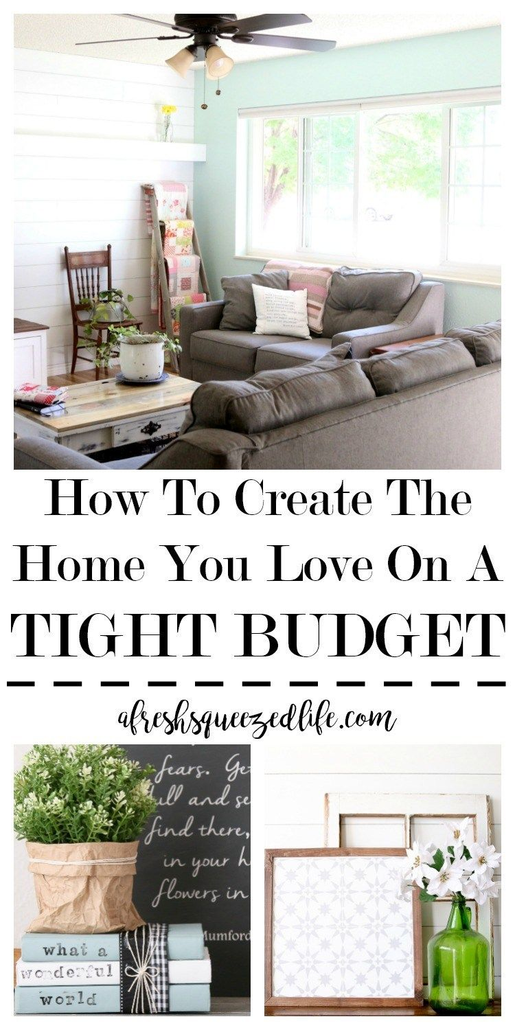 DECORATE ON A BUDGET images
