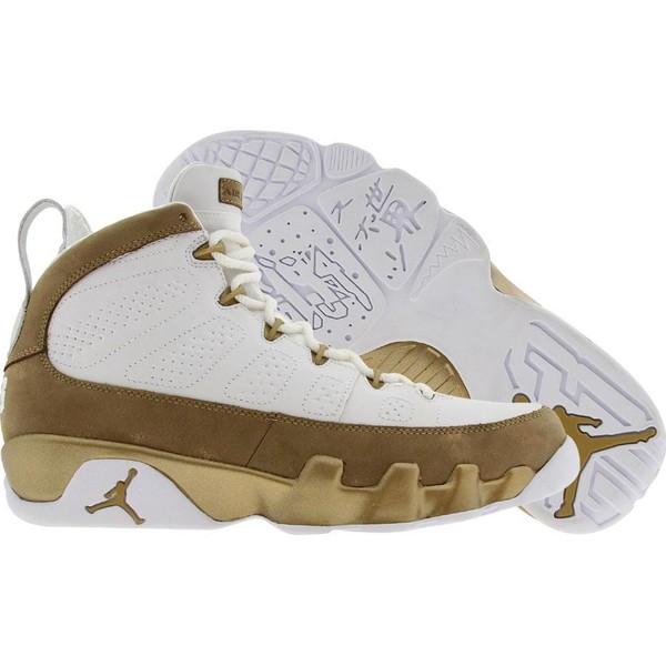 differently 5e620 f7a84 Air Jordan 9 IX Retro Premio - Bin 23 (white   metallic gold) - Shoes -  410917-101   PickYourShoes.com