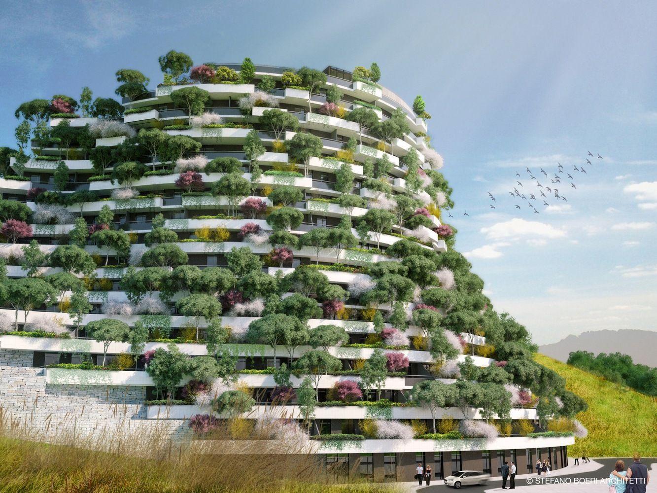 Architettura Sostenibile Architetti gallery of stefano boeri architetti designs vertical forest