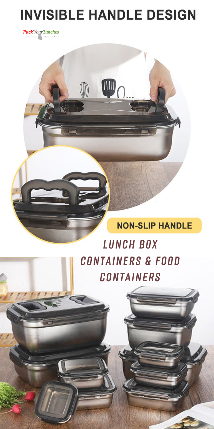 New Lunch Box Stainless Steel Food Container In 2020 Food
