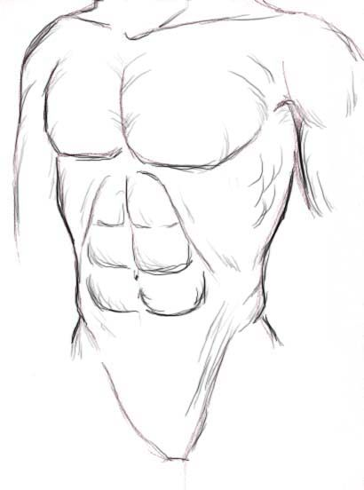 How To Draw Anime Muscles Anime Drawings Drawing Anime Bodies Manga Drawing