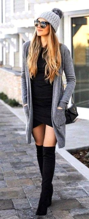 Best 46 Casual Chic Winter Outfits For Women -   17 cute casual style