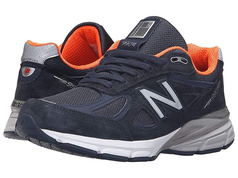 03bcd210180ab New Balance W990v4 Women's Running Shoes Navy/Orange in 2019 ...