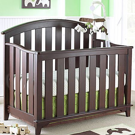Tribeca Bedford Baby Convertible Crib Chocolate