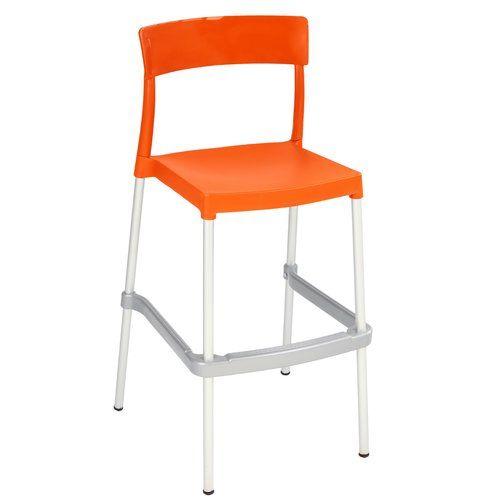 Barcelona Bar Stool Home Loft Concept Seat Colour Orange Chairs