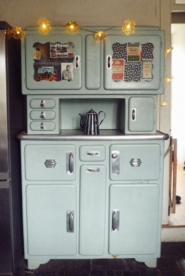 1950S Kitchen Cabinets Delectable 1950's Kitchen Cabinet In Designer Double Merrick's House The Design Decoration