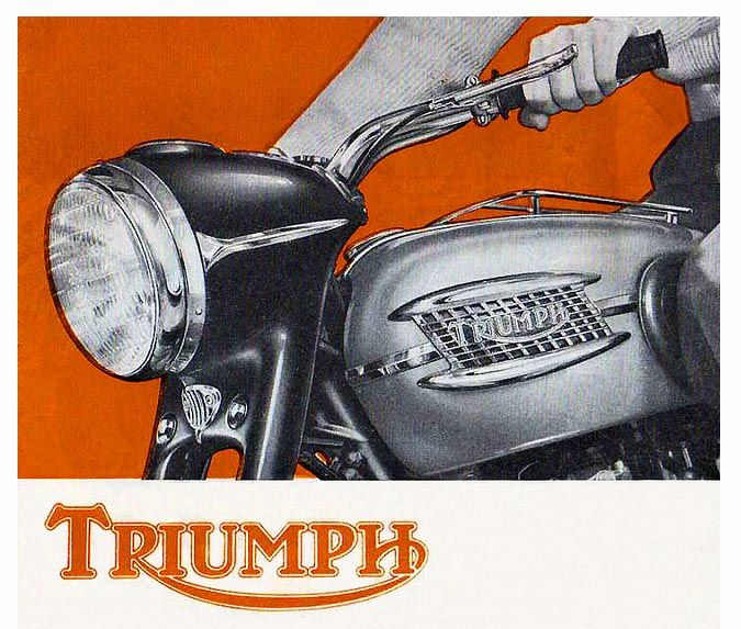 triumph motorcycle paintings - Google Search