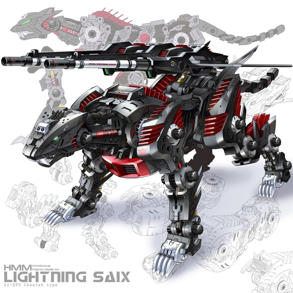 Pin on Zoids