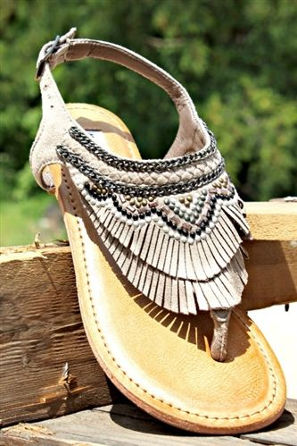 The Zion Sandal - Taupe (PREORDER) $52.99! #southernfriedchics #sandal #notrated #cute