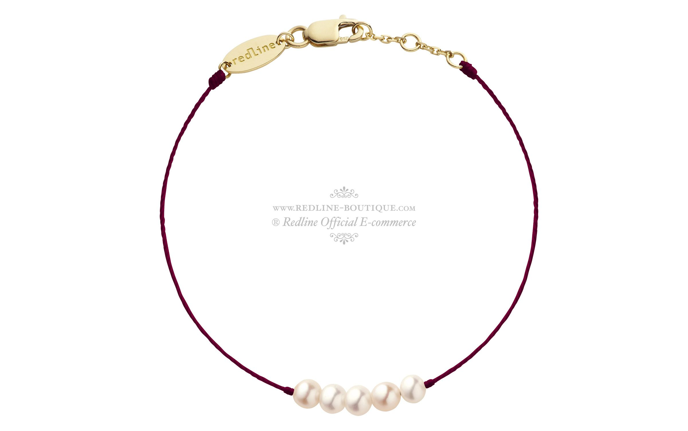 Redline Perles Or Queen Jaune Diamant Bracelet Bijoux OnwvN0m8