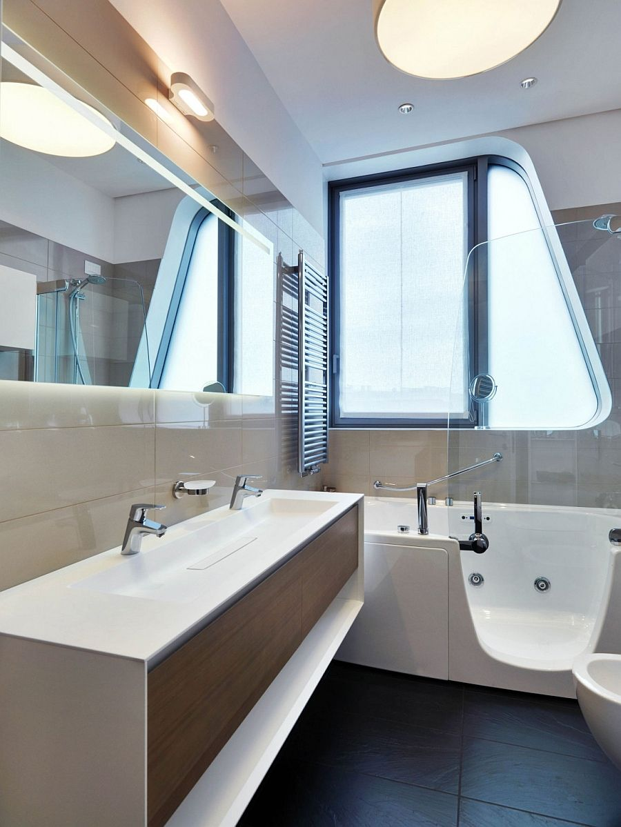 Apartmentsawesome floating vanity also floating bathtub and glass