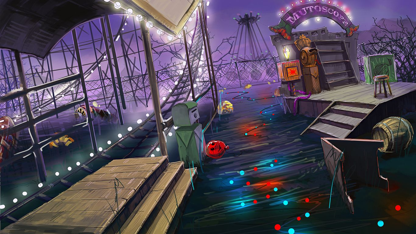 Mystery Case Files Fate S Carnival Attractions Concept Art