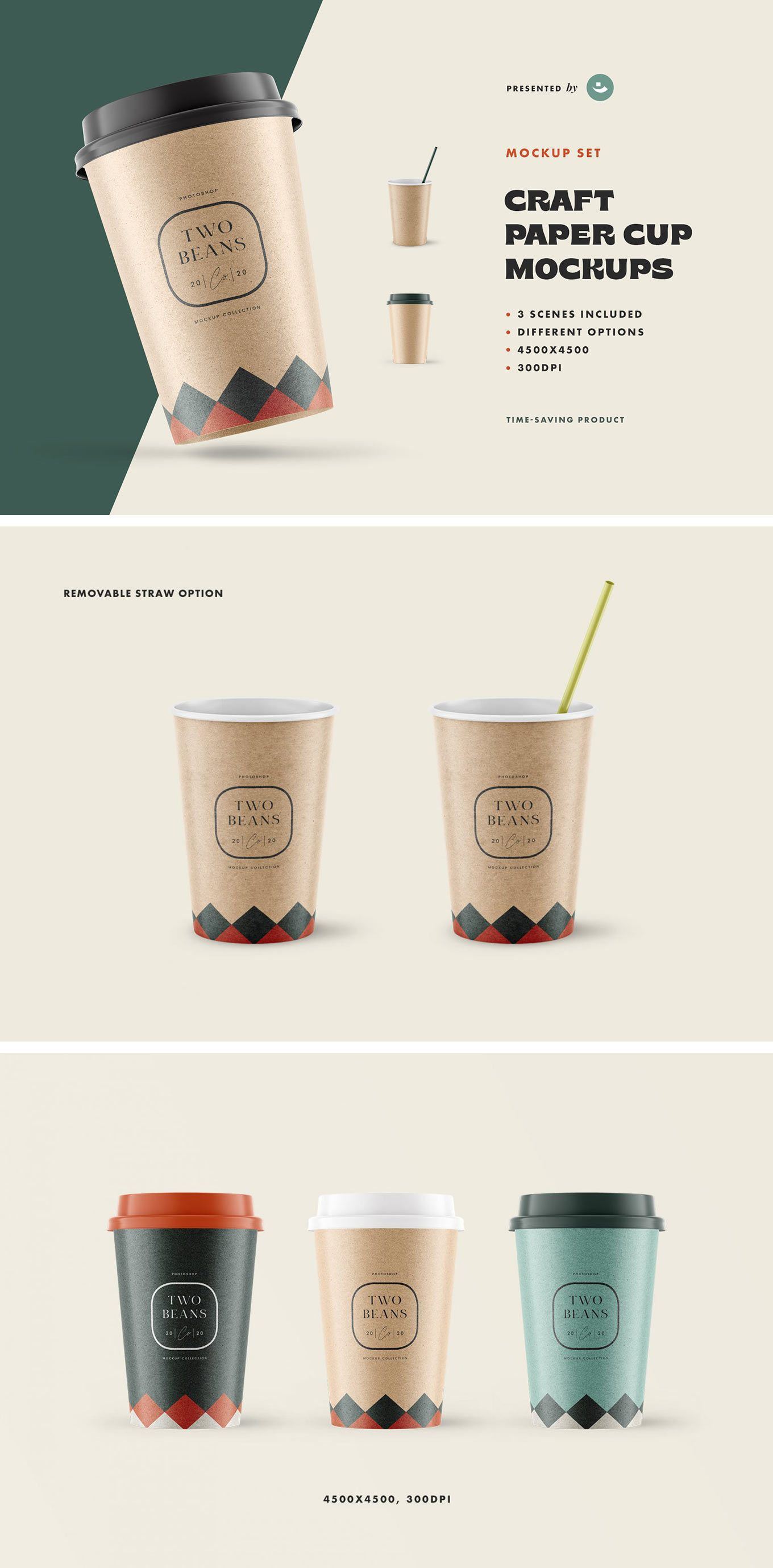 Coffee Cup Mockup download freebie by Pixelbuddha trong