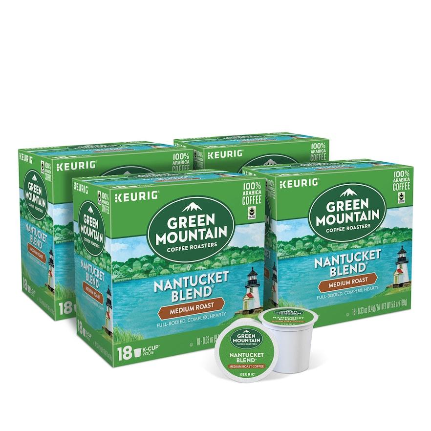 Green Mountain Coffee Nantucket Blend Keurig KCup Pods
