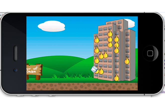 Blazing Buckets iPhone Game is an interesting iPhone shooting game.
