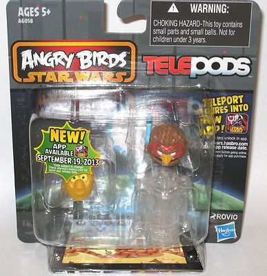 Angry Birds Star Wars 2 TELEPODS 2Pack C3PO  Anakin Skywalker