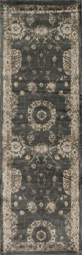 Loloi Charcoal Nyla Ny 25 Rug Transitional Rectangle 3 3 X 5 3
