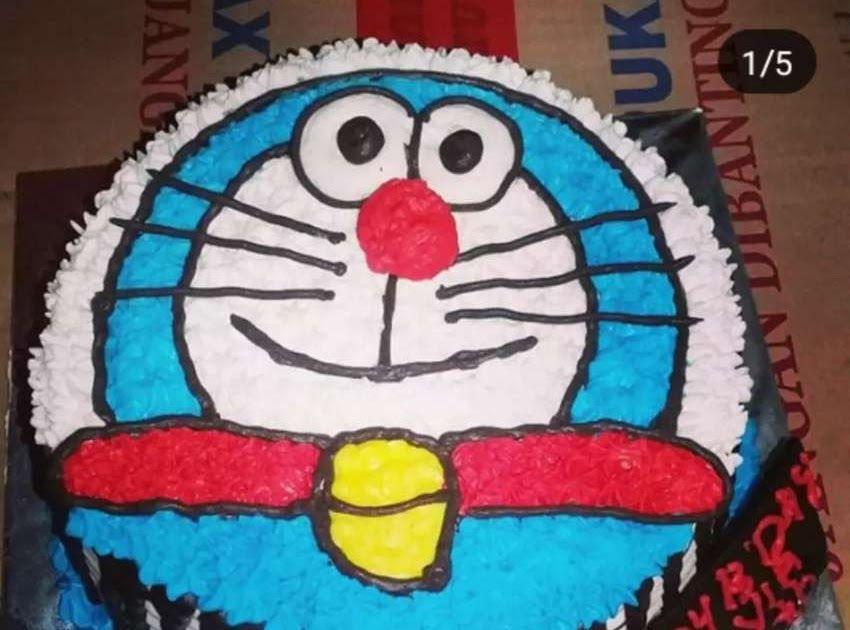 27 Foto Kue Ulang Tahun Doraemon Kue Ultah Ulang Tahun Doraemon Makanan Minuman 756455660 Download How To Make Birthday Ca Di 2020 Kue Ulang Tahun Kue Ulang Tahun