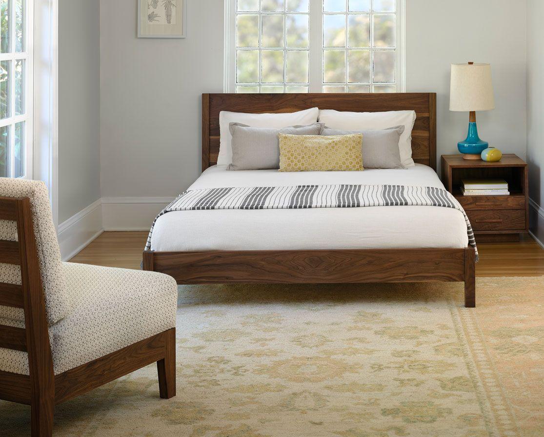 Modern simple platform bed house pinterest platform beds