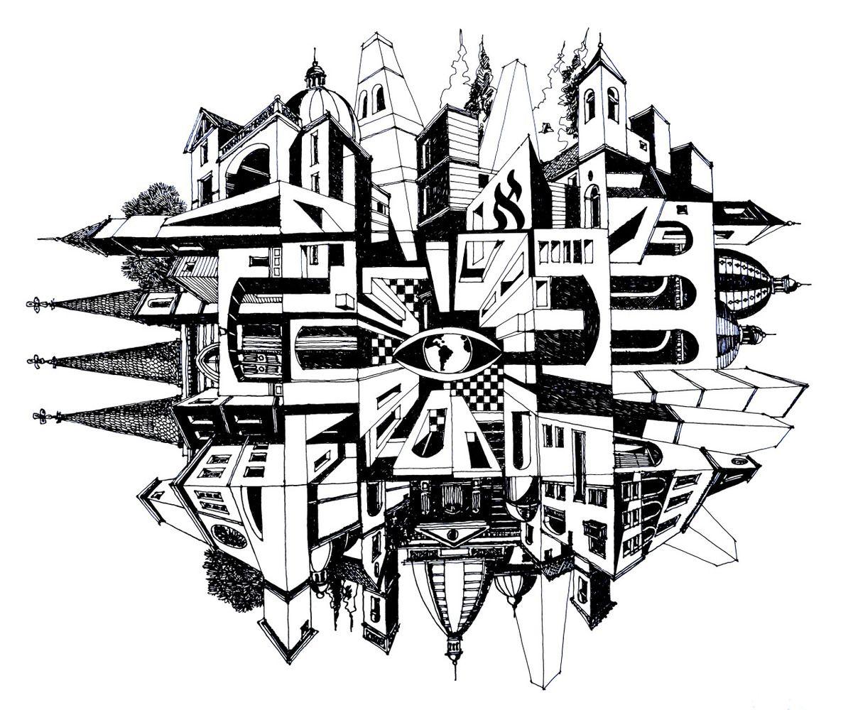 Galeria - Ilustrações que desafiam a realidade arquitetônica - 2
