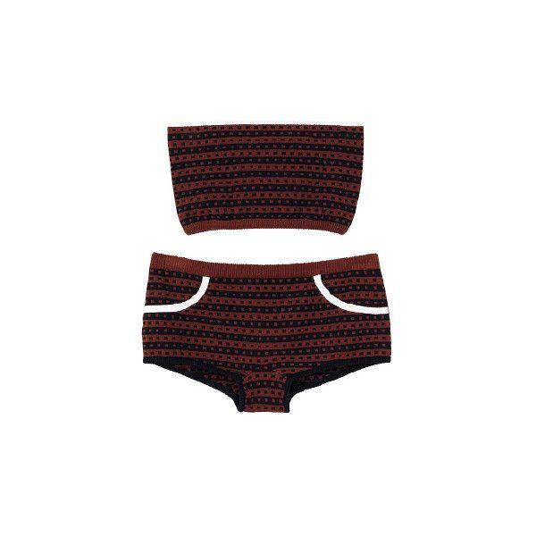 マルニ サマー エディション (MARNI SUMMER EDITION) - ビキニ - 1097ファッションアイテムのカタログ検索 |... ❤ liked on Polyvore featuring lingerie, swimwear, intimates, shorts, swim and marni