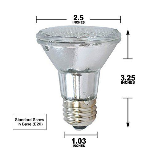 Broan Par20 Halogen Lamp 50 Watts For Allure Rm60000 64000 And Rmip Series Model Par20 Continue To The Product At The Halogen Lamp Halogen Bulbs Range Hood