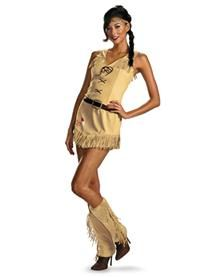Lone Ranger Sassy Tonto Adult Womens Costume. Tonto has never looked so good.  Check out all the great couple costume ideas.