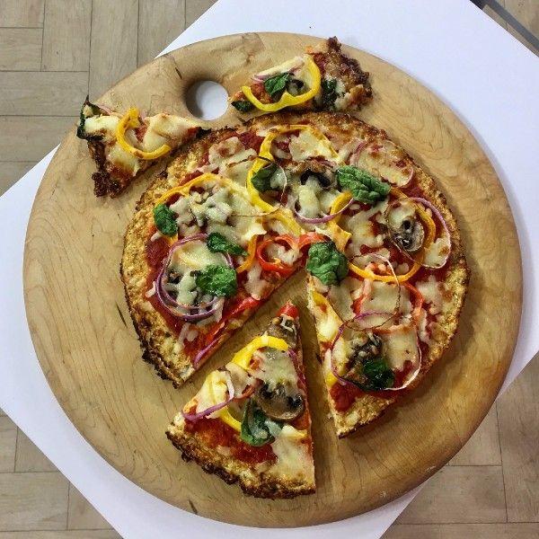 How To Make Cauliflower Pizza Crust Joy Bauer Recipes