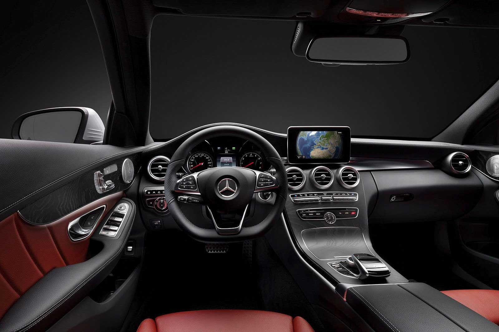 Mercedes Benz C Class Interior Real Wood 0 0 C Class Mercedes