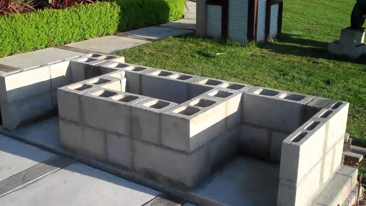 cinder block ideas cinder block fire pit cinder block ... on Simple Cinder Block Fireplace id=78525