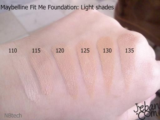 Fit Me Matte + Poreless Foundation by Maybelline #17