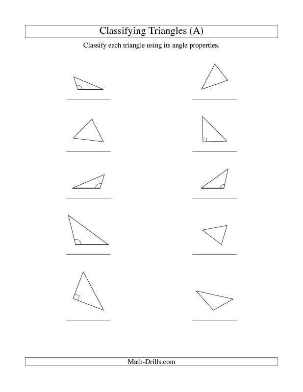 New 2013 03 09 Classifying Triangles By Angle Properties A