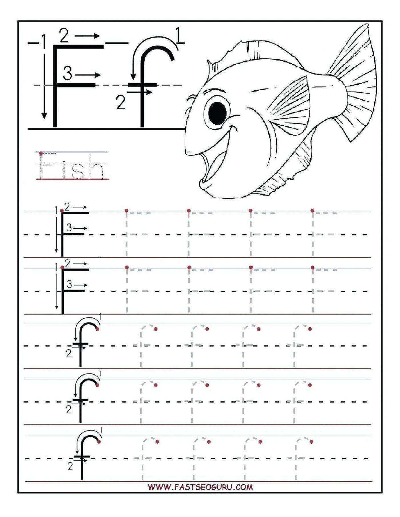 Traceable Worksheets For Kids Alphabet Worksheet
