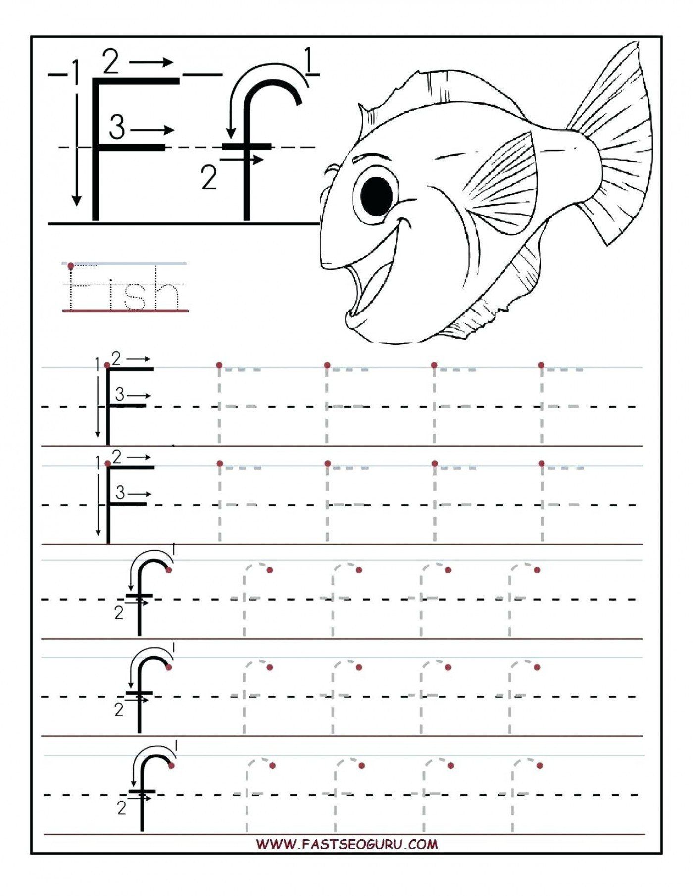 Alphabet Worksheet For Kindergarten Alphabet Worksheet