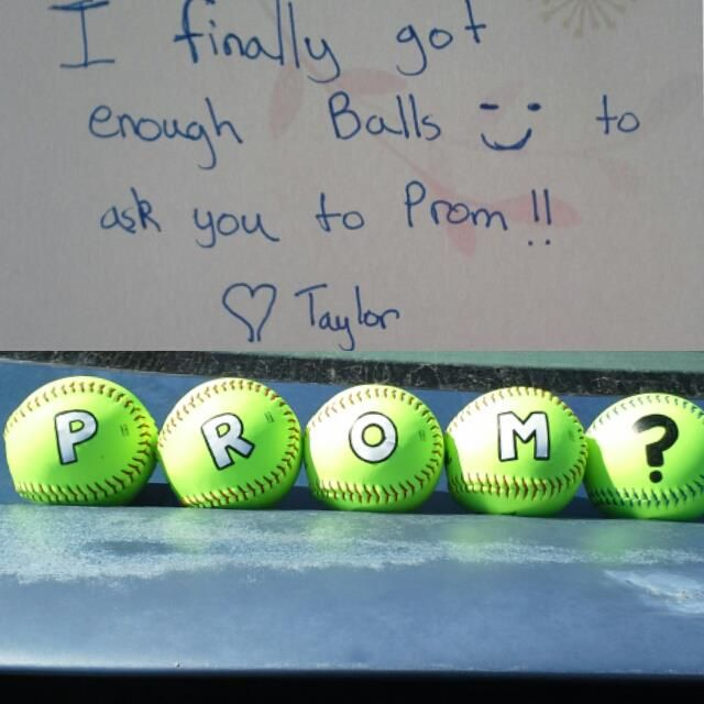 Use soccer balls or basketballs instead spell out prom with use soccer balls or basketballs instead spell out prom with construction paper and tape basketball ccuart Images