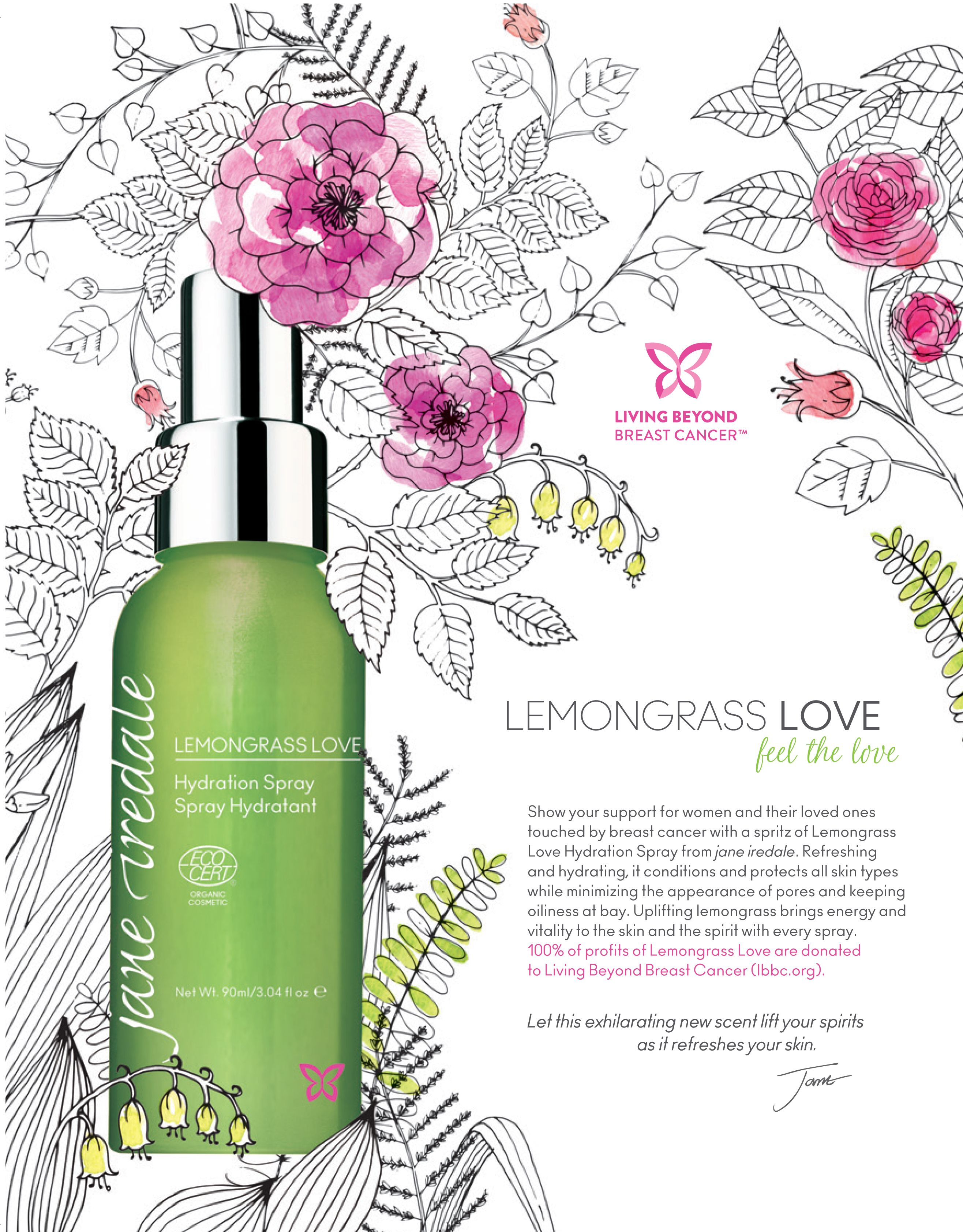 For our Hydration Spray lovers, this new Lemongrass Love